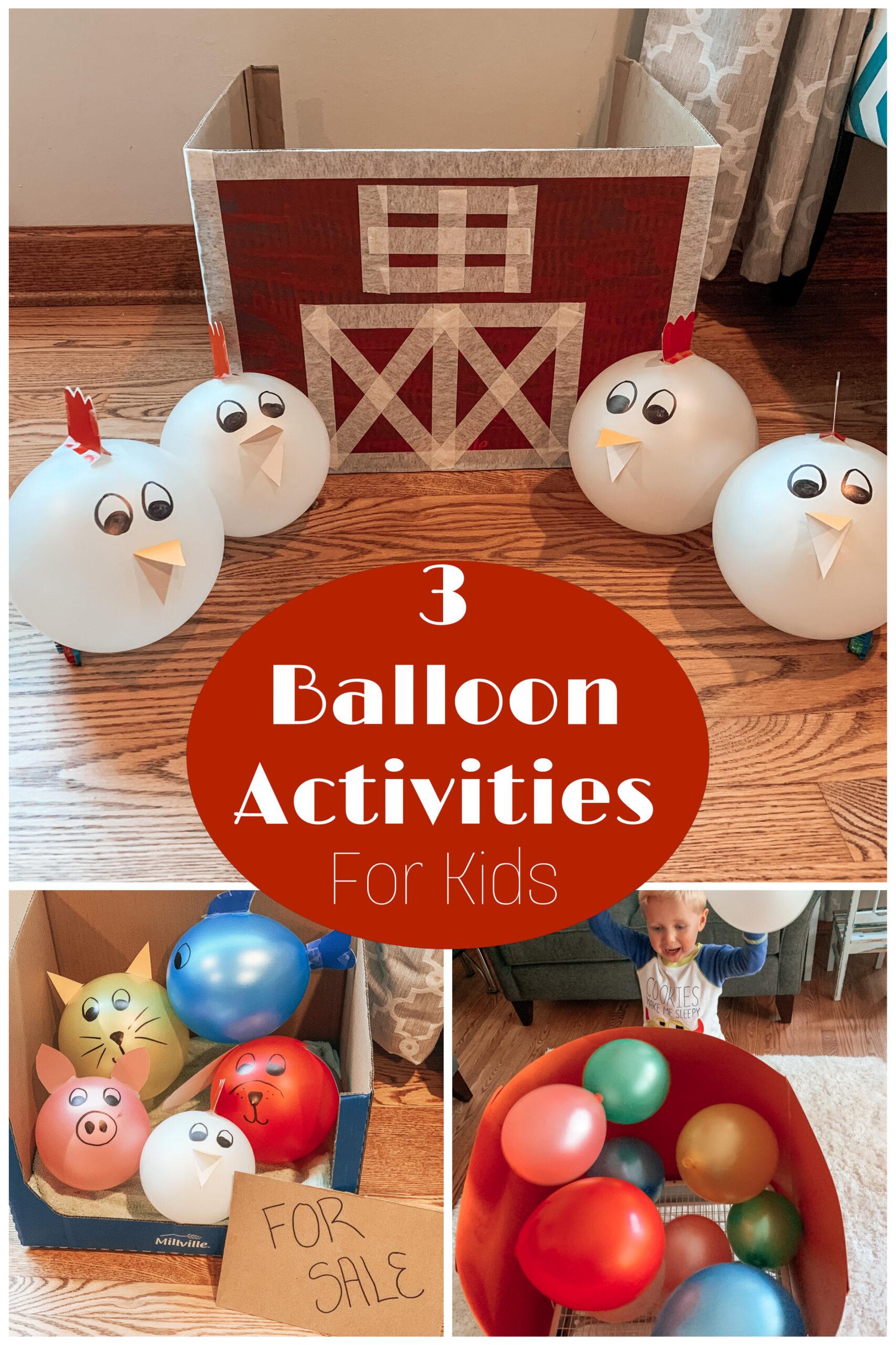 3 Balloon Activities