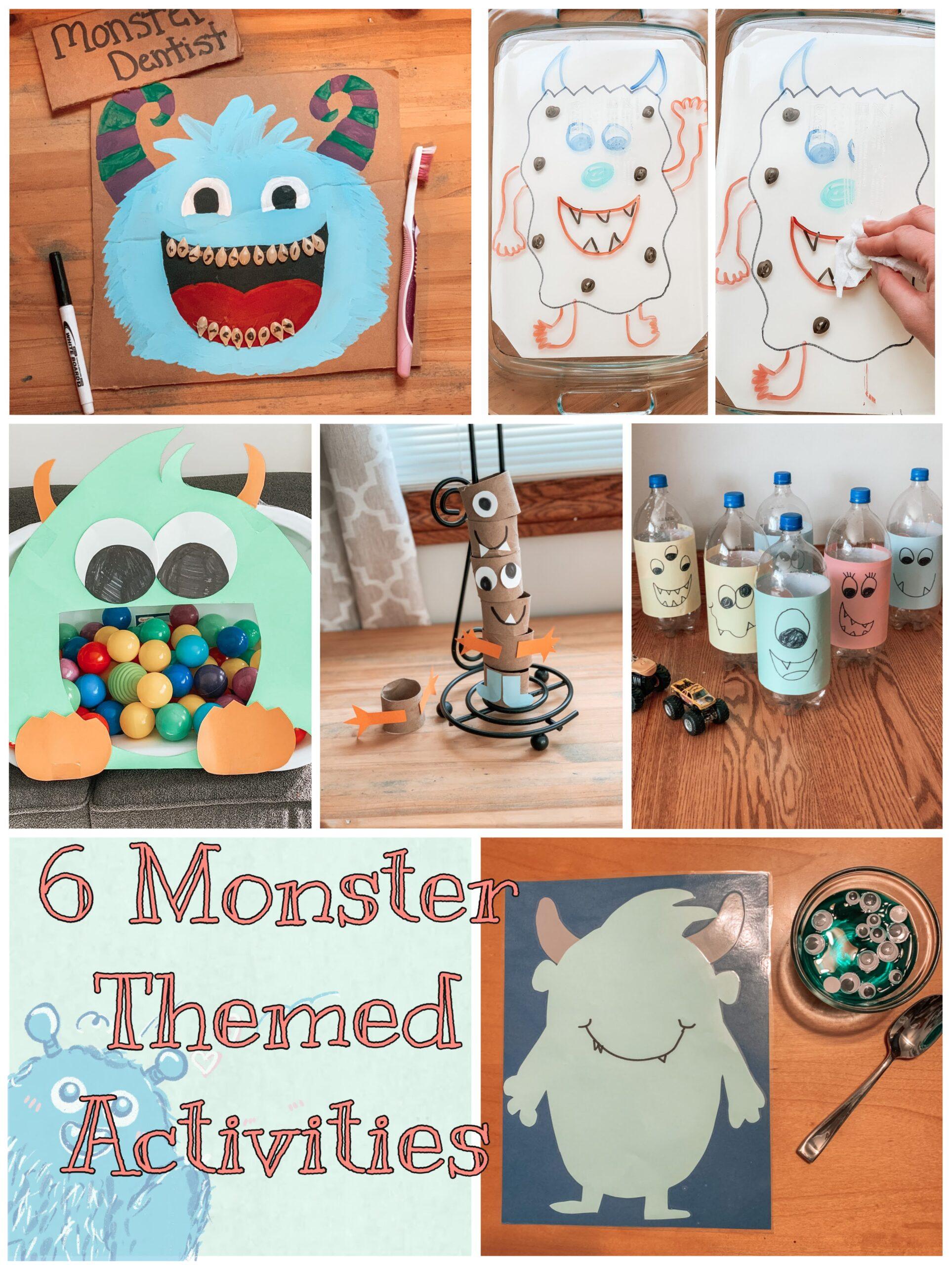 6 Monster Activities