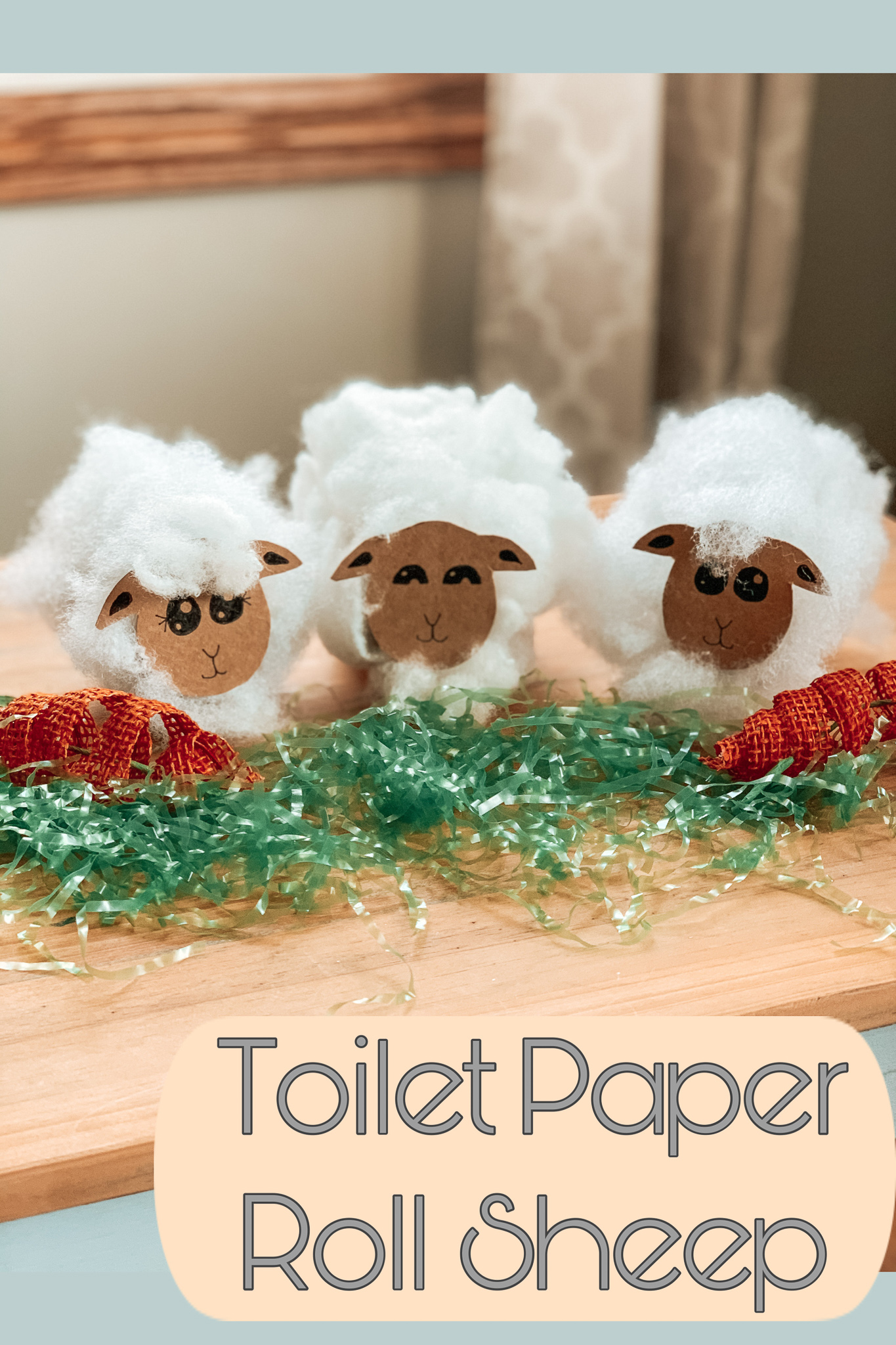 Toilet Paper Roll Sheep