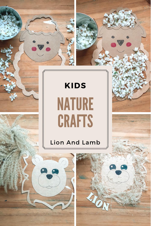 Kids Nature Crafts