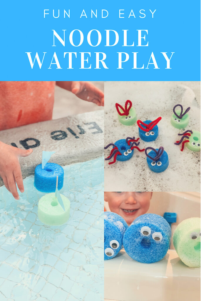 Easy and fun noodle water play activities for kids