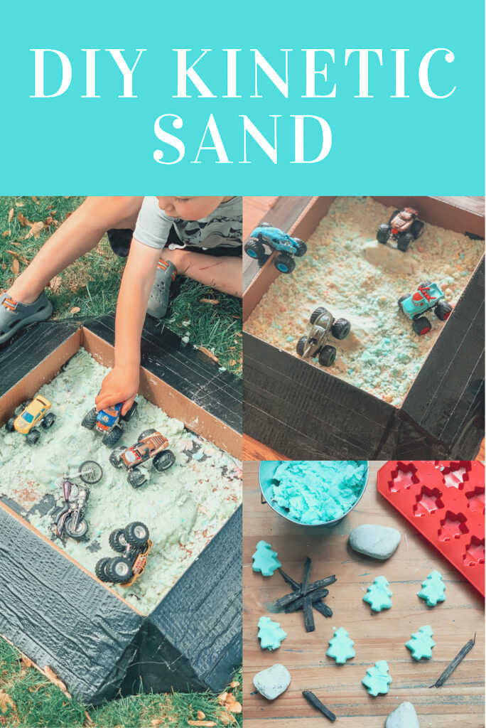 DIY kinetic sand recipe