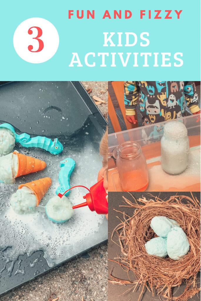 fizzy activities for kids