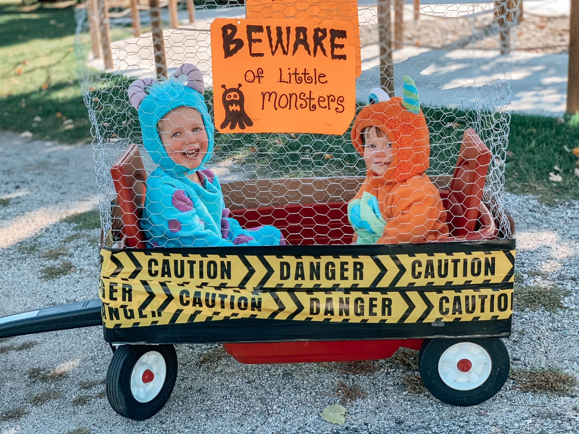 DIY monster kids costume